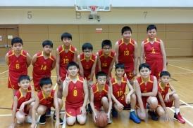 參加校際籃球比賽