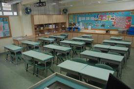 全新設置的課室